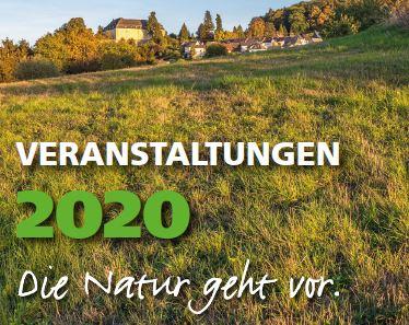 Veranstaltungsprogramm 2020